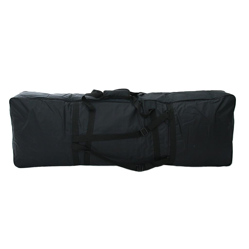 88 clés clavier sac de transport grande mallette de rangement pour Piano électrique numérique noir
