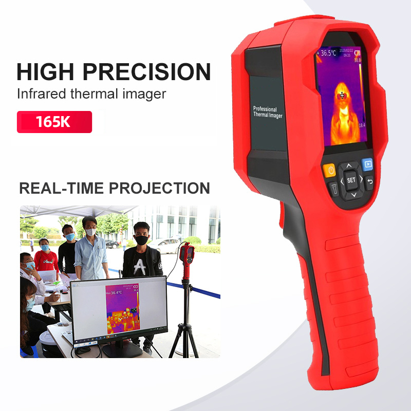 A-BF Infrared Thermal Imager with Real-Time Image Transmission and High-Temperature Alarm Prompt 1