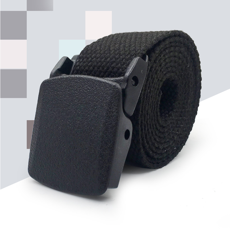 Men Outdoor Canvas Belt Hiking Camping Safety Waist Support Hunting Sports Wearable Breathable Military Tactical Belt