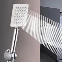 Высокое качество давления дождевой ручной душ насадка водосберегающий фильтр, распылитель насадка для ванной комнаты из нержавеющей стали насадка для душа