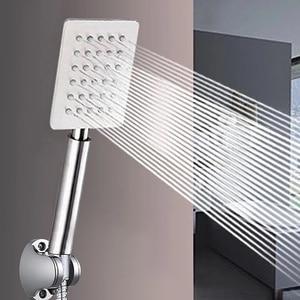 Shower Head Pressure Rainfall Hand Held Shower Head Water Saving Filter Spray Nozzle Bathroom Stainless Steel Shower Head