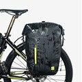 Rhinowalk 25L велосипедная сумка MTB велосипедная задняя стойка сумка полностью водонепроницаемая многофункциональная дорожная велосипедная сум...