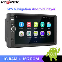 Vtopek Android 8.1 Car Radio 7'' 2 Din Multimedia Player Audio GPS Navigation Wifi for Nissan TOYOTA Kia RAV4 Honda VW Hyundai(China)