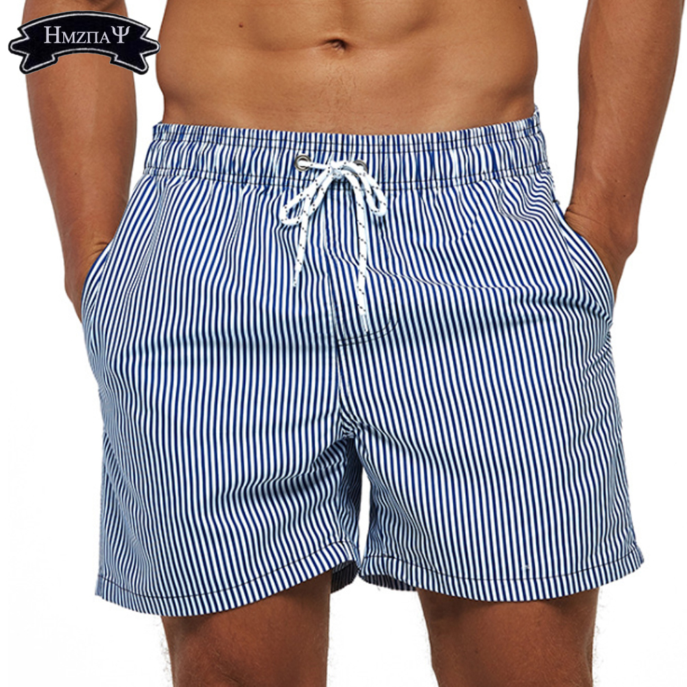 Men's Swimwear Beach Pants Elastic Waist Quick-Drying Stretchable Outdoor Running Sports Shorts Surf Swimming Trunks