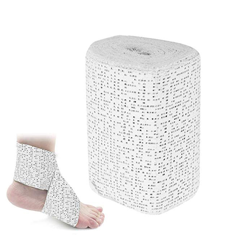 1 Roll 15cm*4.6m Medical Plasters Bandage Quick-Drying Gypsum Splint Gauze First Aid POP Bandage For Fracture Fixation