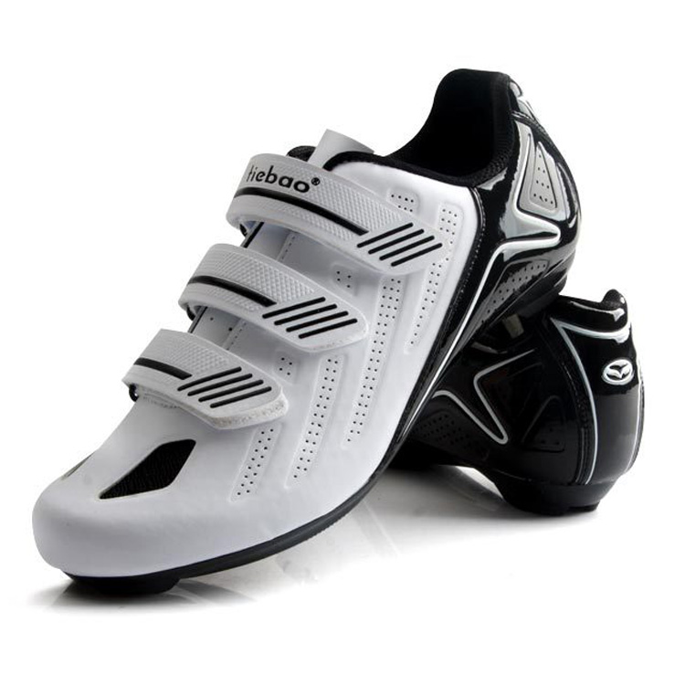 TIEBAO New Arrival Men Cycling Shoes Breathable Road Bike Shoes Bicycle Athletic RacingTriathlon Self Locking Cycling Sneakers|Cycling Shoes| |  - title=
