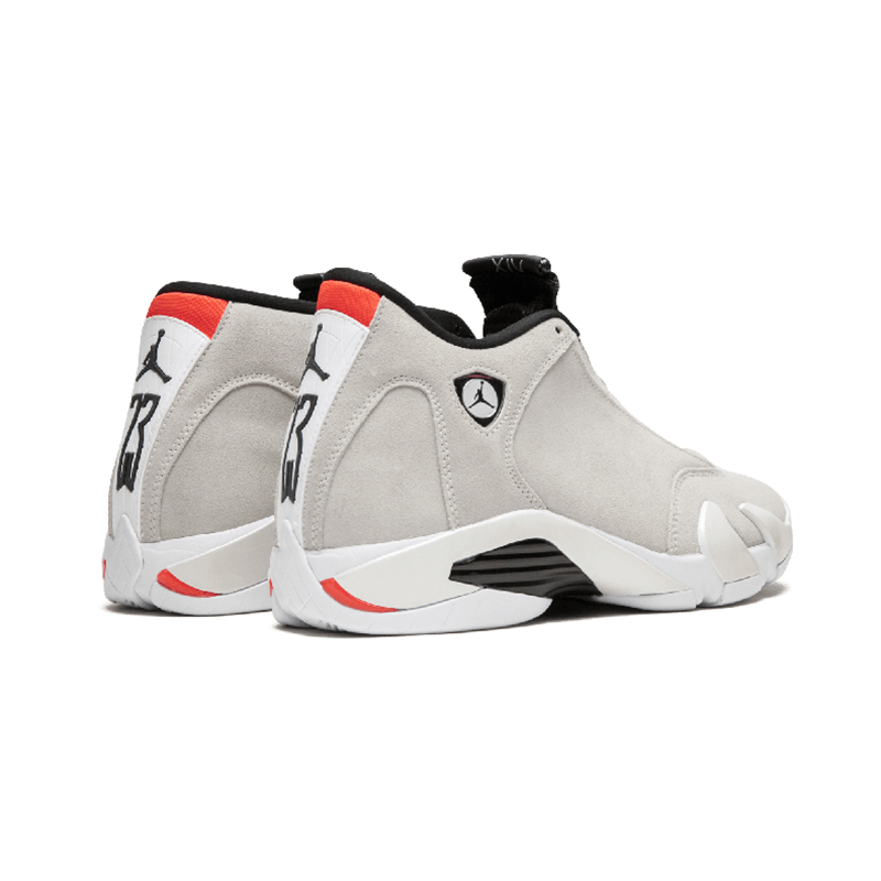 Original Authentic NIKE Air Jordan 14 Retro Men's Basketball Shoes Sport Outdoor Sneakers Medium Cut Lace-Up Good Quality 487471 54