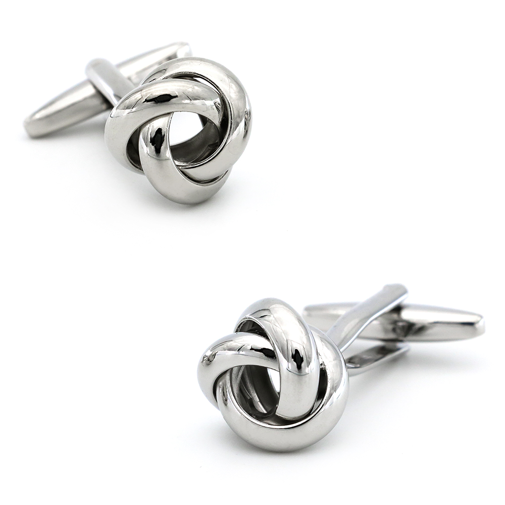 Free shipping Black Cufflinks for men fashion knot design top quality copper hotsale cufflinks whoelsale&retail 3