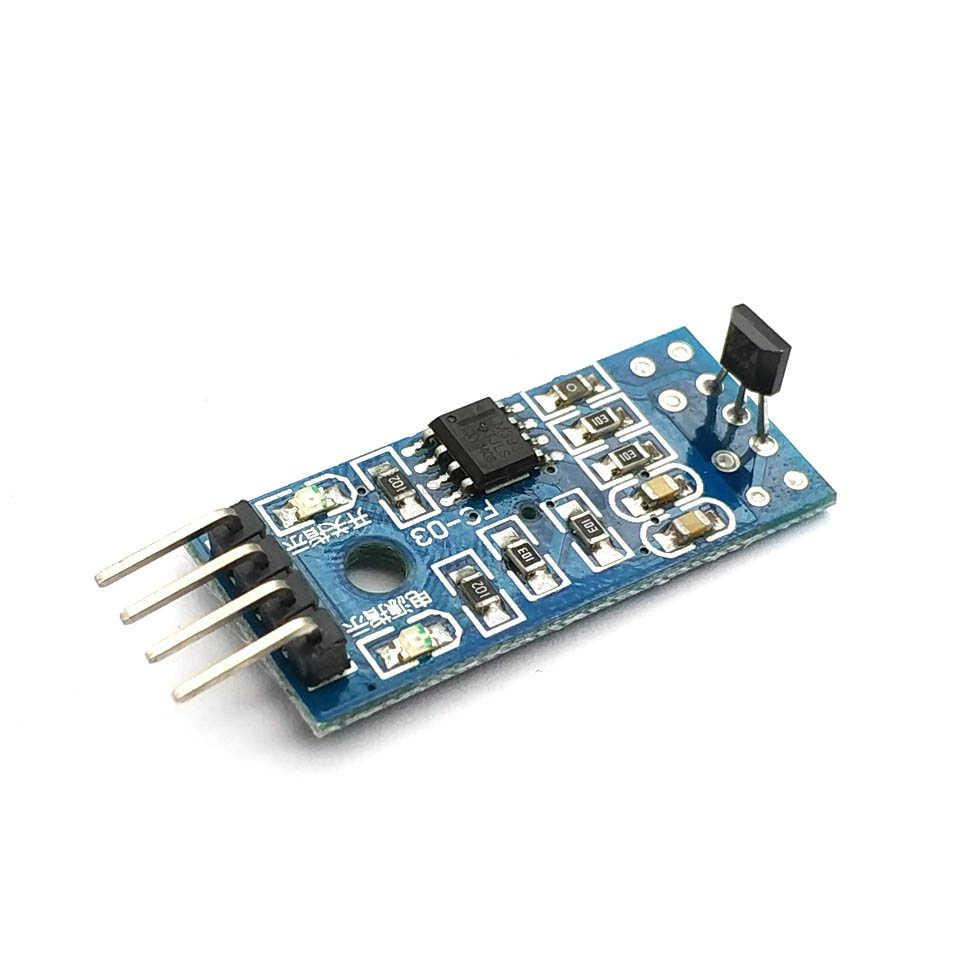 Los sensores Hall para 3144E Hall Interruptor de velocidad magnético Swiches velocidad contando Módulo de Sensor para coche inteligente