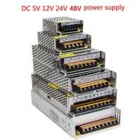 vusum Lighting Transformer AC110V-220V to DC 5V 12V 24V 48V Power Supply Adapter 2A 5A 10A 15A 20A 30A LED Strip Switch Driver
