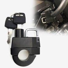 25mm universal bloqueio do capacete da motocicleta para yamaha estrela parafuso raider xvz xvs 1300 1100 950 650 400 arrastar estrela v-estrela xv1600