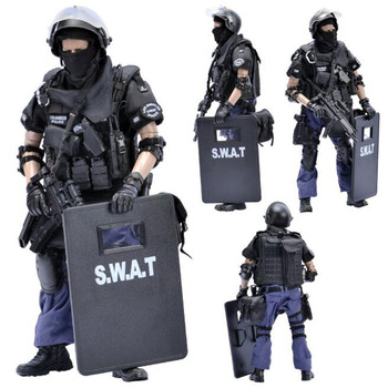 1/6 Scale KADHOBBY NX03 LA Point-man armed police policeman Corps Military Army soldier Model toy 12' Full Set Action Figure Toy image