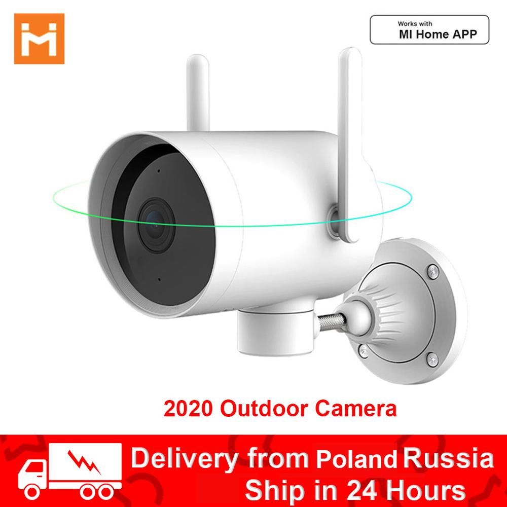 2020 N1 Outdoor IP Camera Ptz Mijia WiFi Security Camera Smart Monitor CCTV IP66 Waterproof Wide-angle Cloud Storage Mi Home App