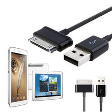 USB Charger Opladen Data Cable Koord voor Samsung galaxy tab 2 3 Opmerking P1000 P3100 P3110 P5100 P5110 P7300 P7310 P7500 P7510 N8000(China)