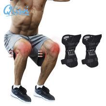 Joint joelheiras suporte de joelho protetor de energia apoio poderoso rebote primavera força antiderrapante power lift joelheiras rebote