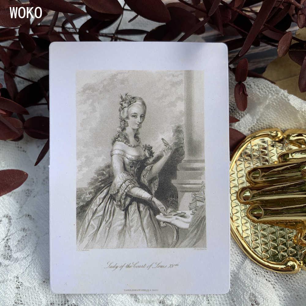 WOKO 63 pièces rétro européen Art Culture Journal autocollants ange machine à écrire lettre bricolage Scrapbooking décoratif balle Journal matériel