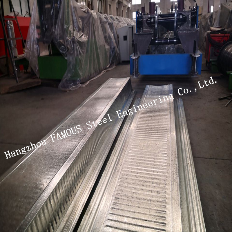 Customized Galvanized Steel Decking Sheet Comflor  210 Composite Metal Floor Deck