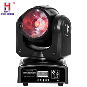Mini moving head led light 60w beam lights professional dj equipment