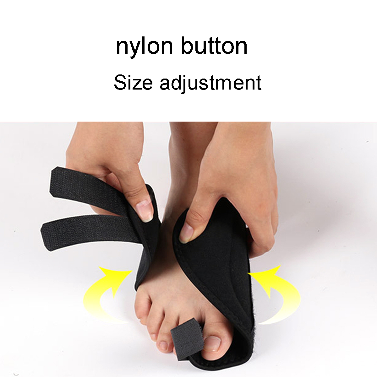 Apparel - 2PCS Toe Separator Bunion Corrector Orthopedic Pedicure Tool Hallux Valgus Corrector Big Bone Thumb Adjuster Feet Care Tool