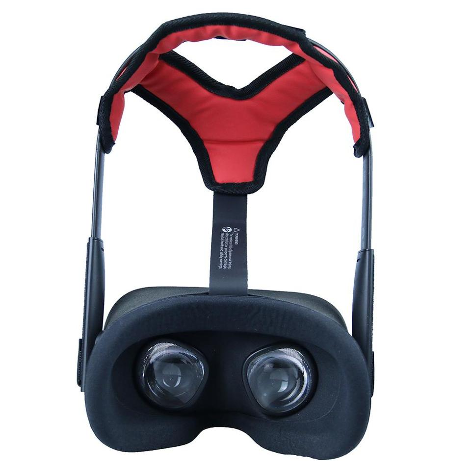 2020 Latest Comfortable PU Leather Non slip Head Strap Foam Pad for Oculus Quest VR Headset Cushion Headband Fixing Accessories