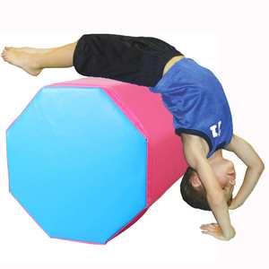 38x38x50cm Gymnastics Gym Air Mat Floor Home Gymnastics Trainers Exercise Inverted Backflip Octagon Round Column Tumbling Mat