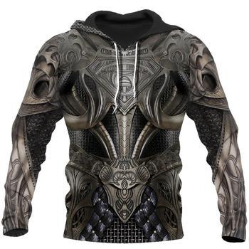 цена на PLstar Cosmos All Over Printed Knights Templar 3d hoodies/Sweatshirt Winter autumn funny Harajuku Long sleeve streetwear-25