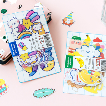 20pcs/lot Patterns Cute Stickers bullet journal Scrapbooking Decoration collage School Diary Album Stationery Sticker aesthetic custom logo vintage scrapbook journaling stickers cute aesthetic kawaii bullet journal diary decoration planner sticker flakes
