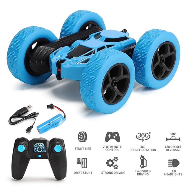 360 Degree Roll Double Sided Stunt Car 2