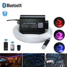 Звуковой активный волоконно оптический свет s bluetooth управление