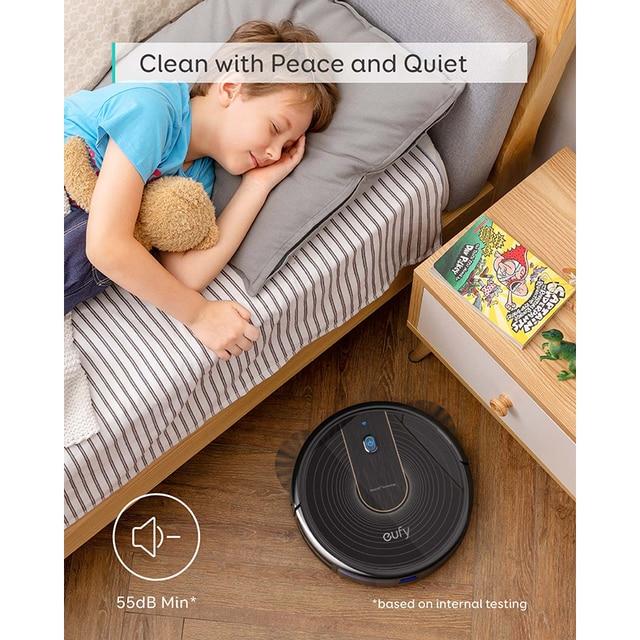 Eufy [BoostIQ] RoboVac 15C, Wi-Fi, Super-mince, 1300Pa forte aspiration silencieux, auto-charge robot aspirateur