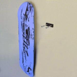 Image 3 - 6/PK Skateboard Floating Deck Display Wall Mount Rack Holder Hanger Fit Home Storage Display