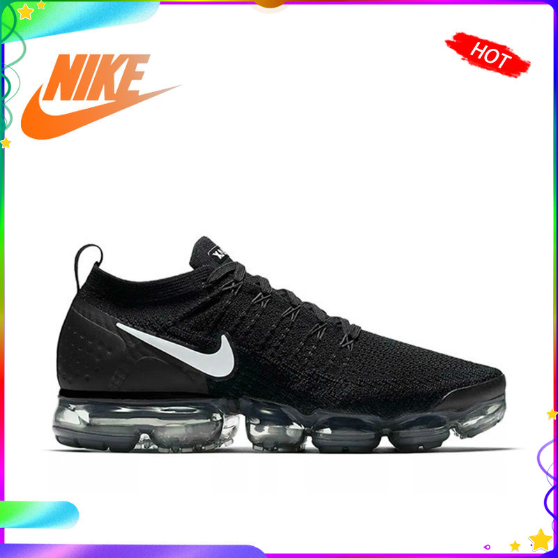 Original Authentic NIKE AIR VAPORMAX FLYKNIT 2.0 Men's Running Shoes Classic Outdoor Sports Shoes Breathable 942842-001