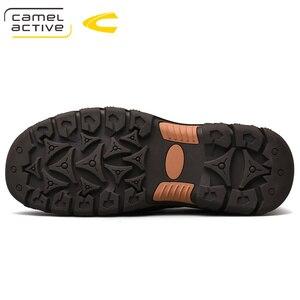 Image 3 - גמל פעיל חדש אמיתי עור גברים של נעלי אופנה חדשה סט רגל רך עור פרה קל משקל לנשימה נעליים יומיומיות גברים לופרס