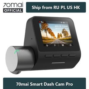 70mai Dash Cam Pro Speed N coordinates 1944P ADAS Car Camera 70MAI Pro Voice Control 24Hours Parking Wifi Car DVR 70 mai 140FOV(China)