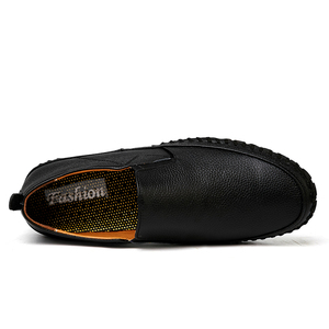 Image 3 - 가을 캐주얼 슬립 남성 가죽 신발 Mocassin Homme Moccasins Trend 2020 여름 운전 플러스 사이즈 49 50