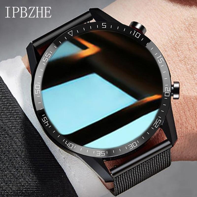 Смарт-часы Ipbzhe мужские, Android, ЭКГ, Bluetooth, звонки, Смарт-часы, 2021