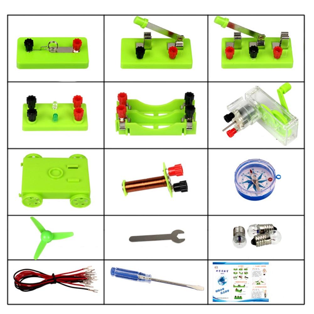 FUN KIDS circuit électrique Kit d/'apprentissage pour enfants école étudiant Science Jouet S