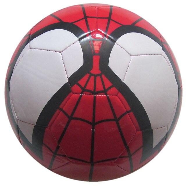 Disney Marvel Super héros rouge araignée homme PVC ballon de Football officiel taille 2, 3, 4, taille 5 jouet ballon de Football enfants modèle jouet M4736