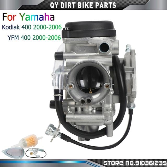 PD33J Carburetor For Yamaha Kodiak 400 YFM400 ATV Quad 2000 2001 2002 2003 2004 2005 2006 YFM400 ATV Quad Parts Carbs