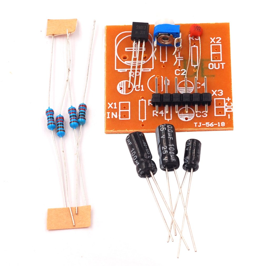 Single Tube Amplifier Circuit Kit Partial Voltage Bias Circuit Transistor Amplification Electronic Production Experiment