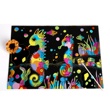 Детский Красочный Рисунок игрушки бумага для скретч Арта Волшебная картина бумага с рисунком палочка для детей Подарки модная игрушка