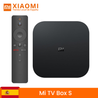 Global version Xiaomi My Box S Smart TV Box Android 8.1 4K HDR Quad Core 2G 8G WIFI Googling Cast Netflix IPTV Set top Box