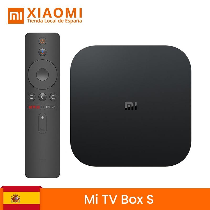 Version globale Xiaomi My Box S Smart TV Box Android 8.1 4K HDR Quad Core 2G 8G WIFI google Cast Netflix IPTV décodeur