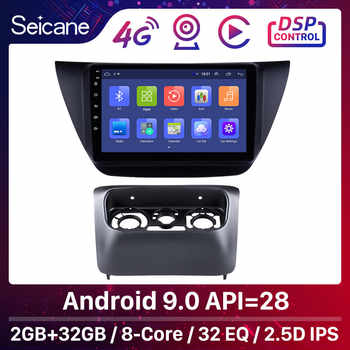 Seicane Android 9.0 9 inch 2Din Car Radio stereo GPS Navi Head Unit Player For Mitsubishi lancer ix 2006-2010 Including frame - DISCOUNT ITEM  12 OFF Automobiles & Motorcycles