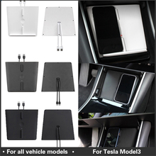 For Tesla Model 3 Wireless Charger Dual USB Ports Fast Car