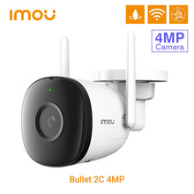 Dahua imou câmera ip 2c 4mp wi-fi sem fio embutido mic ip67 ao ar livre à prova de intempéries segurança em casa inteligente detecção humana IPC-F42P