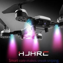 เฮลิคอปเตอร์ RC Drone HJ28 กล้อง 1080 HD APP WIFI เชื่อมต่อ Quadcopter แบบพับเก็บได้ยาวแบตเตอรี่ Drone สำหรับเด็กของขวัญ
