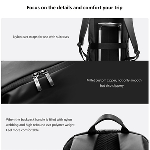 Image 2 - Original Xiaomi Simple Casual Backpack Large Capacity Travel Backpack Waterproof 15.6 inch Laptop  ice feeling fabric