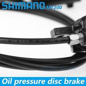 Image 5 - Shimano BR BL MT200 Bicycle Brake MTB Brake Hydraulic Disc Brake 800/900/1350/1450/1550mm Mountain Clamp Brakes upgraded MT315