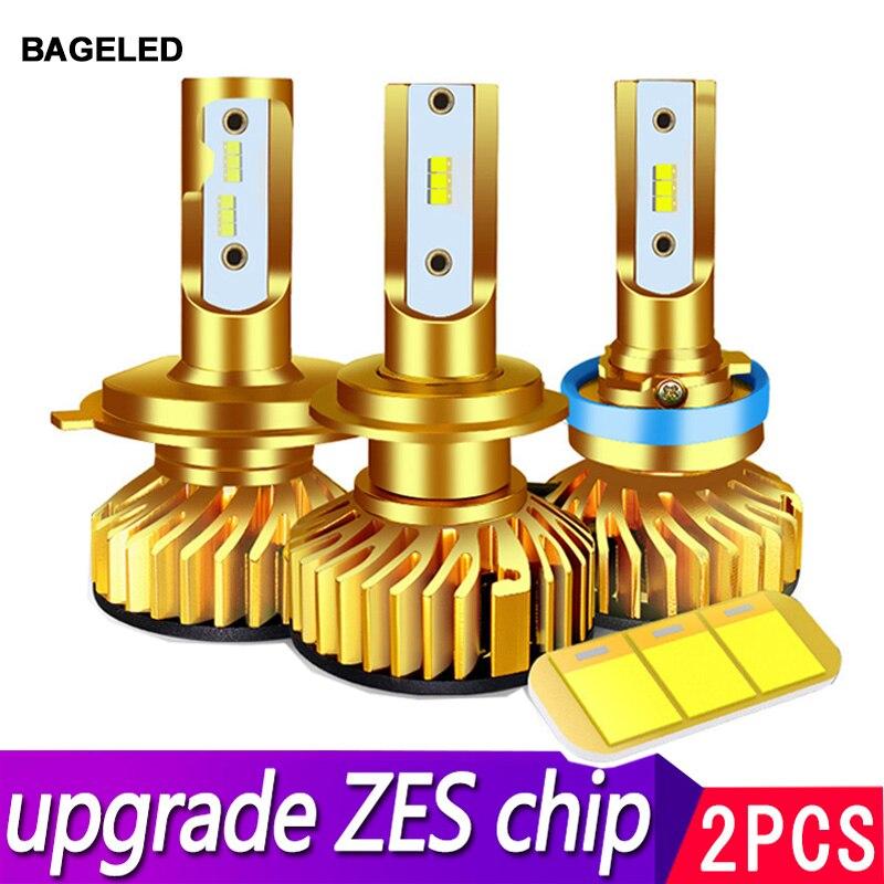 Светодиодный фонарь BAGE Canbus H7, светодиодный H4 светодиодный светильник H1, H3, HB3, 9005, светодиодный налобный фонарь 9006, hb4, H11, H27, 881, светодиодный на...